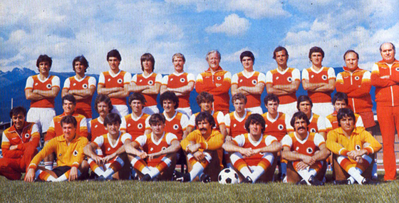 Museo Polisportiva Roma | Calcio – 1979/80 Poster Formazione AS Roma