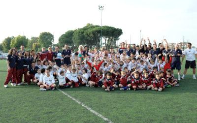 Polisportiva Roma | News Totti Soccer School – Grande successo per l'evento Calciolandia. Tanto pubblico al centro Longarina