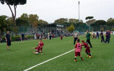 Polisportiva Roma | News Totti Soccer School – Gioca con papà 2012… emozioni e divertimento