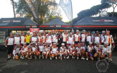 Polisportiva Roma | News AS Roma Ciclismo –Nella prima edizione della Granfondo Campagnolo-Roma, conquistata la vittoria nella classifica a squadre