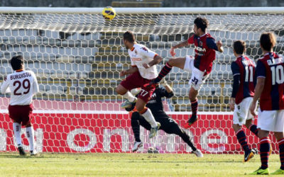 A Bologna l'AS Roma non va oltre il pari. Gioco spettacolora ma difesa colabrodo