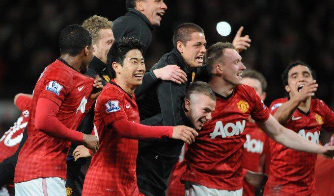 Ferguson ha fatto 13: Manchester United campione con 4 turni di anticipo, grazie alla tripletta di Van Persie all'Aston Villa