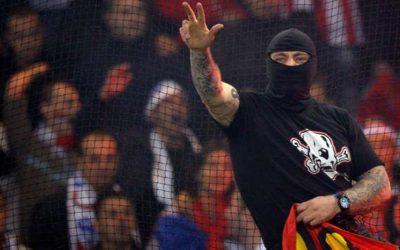 """Ivan """"il Terribile"""", l'ultrà serbo arrestato durante Italia-Serbia disputata a Genova, è stato rilasciato ieri dalle autorità del suo paese, con uno sconto di pena di un mese"""