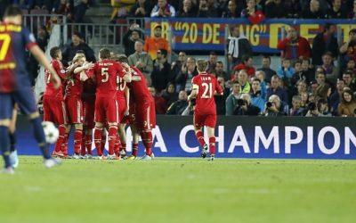 Il Bayern Monaco umilia il Barcellona al Camp Nou. Senza Messi i catalani si arrendono allo strapotere dei tedeschi. Sarà il quarto derby in una finale di Champions League