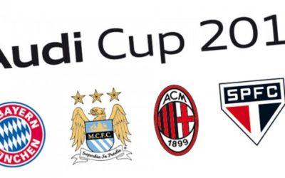 Audi Cup: Milan con Bayern, Manchester City e San Paolo