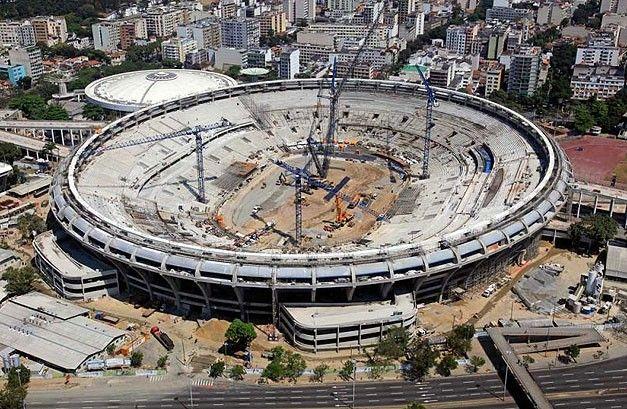 Polisportiva Roma | News Calcio – Ricostruzione del Maracanà. Ai Mondiali del Brasile 2014 i soldi non bastano mai