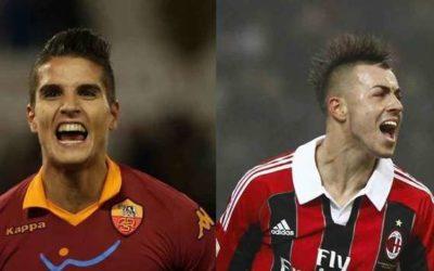 L'AS Roma a Milano per continuare a sognare l'Europa. Il Milan vuole tre punti per la matematica certezza della Champions League. Lamela e El Shaarawy giovani talenti a confronto