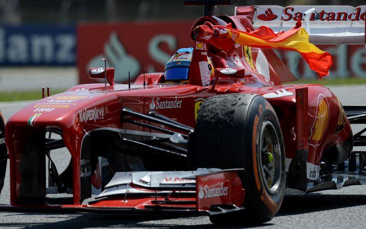 Fantastica Ferrari! Alonso conquista la vittoria nel GP di Spagna e Massa ottiene un ottimo terzo posto