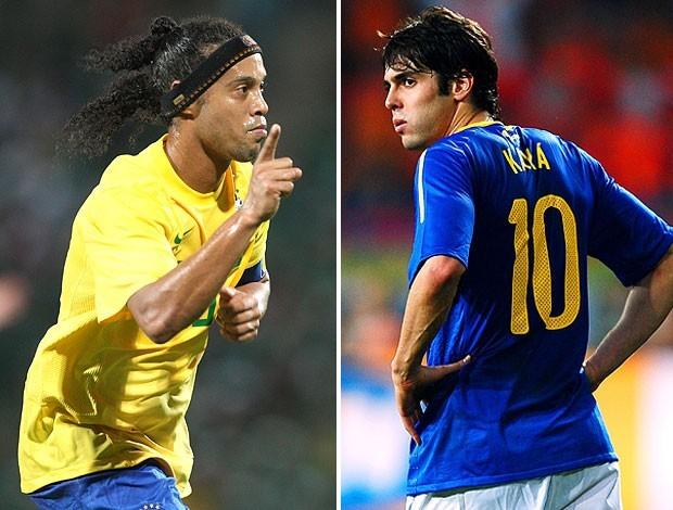 Niente Confederations Cup per Kakà e Ronaldinho