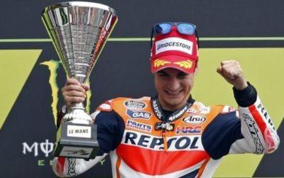 Polisportiva Roma | News Moto GP – Dani Pedrosa vince il Gran Premio di Francia (Le Mans). Secondo Crutchlow, terzo Marc Marquez. Rossi scivola e termina dodicesimo