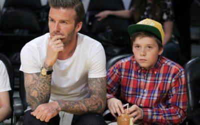 CALCIO – David Beckham, la saga continua: tocca al piccolo Brooklyn