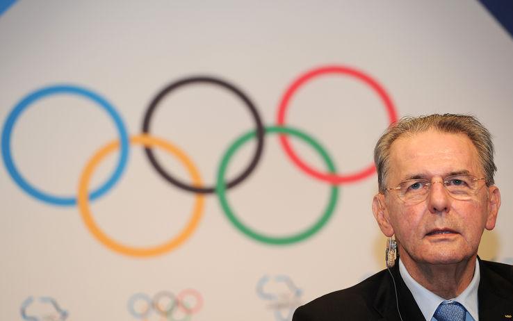 OLIMPIADI: Il Presidente del Coni Giovanni Malagò incontra Rogge – Presidente del CIO – a Losanna