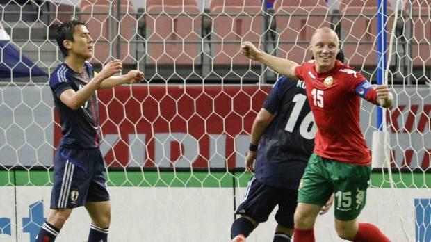 CALCIO – L'amichevole tra il Giappone e la Bulgaria finisce 0 a 2