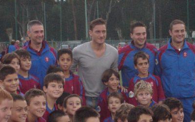 Polisportiva Roma | News Totti Soccer School – Dal 17 giugno partono i Centri Estivi presso il Centro Sportivo Longarina, tre le settimane a disposizione