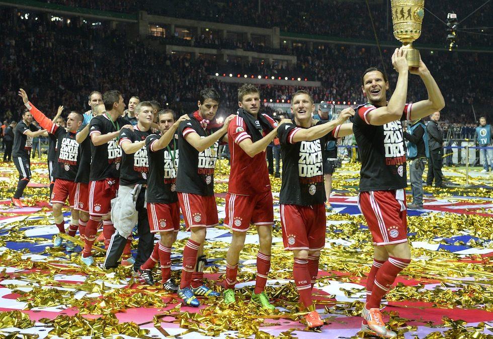 """CALCIO – Per il Bayern Monaco è """"triplete"""". Coppa, Scudetto e Champions League!"""