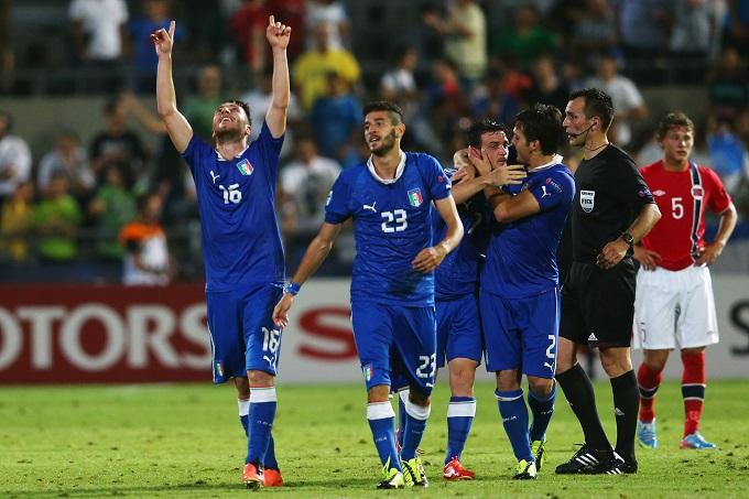 CALCIO – Gli azzurrini pareggiano 1-1 con la Norvegia. Gran gol nel finale di Bertolacci