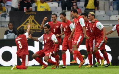 Polisportiva Roma   News Calcio – In Confederation Cup vince la Nigeria 6-1 contro Tahiti. Il gol delle Tigri del Pacifico e la loro esultanza sono lo spot più bello per il Calcio