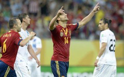 Polisportiva Roma   News Calcio – La Spagna continua a vincere in Confederation Cup. Dopo Mondiale e Europeo, vittorioso l'esordio in Brasile contro l'Uruguay