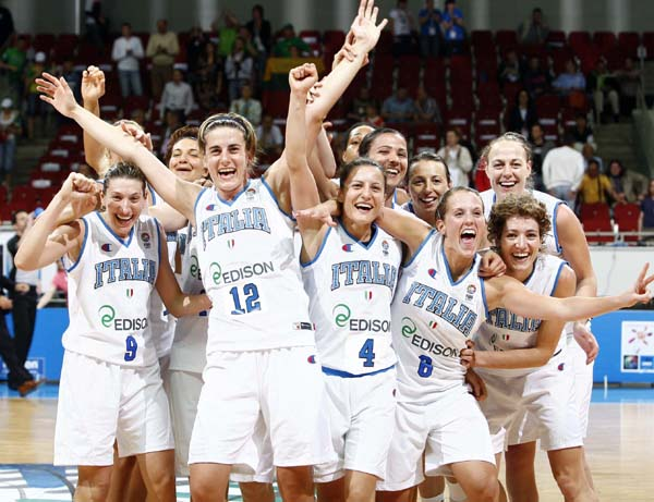 Polisportiva Roma | News Basket – Ok l'Italia femminile agli Europei. 66-60 al Montenegro