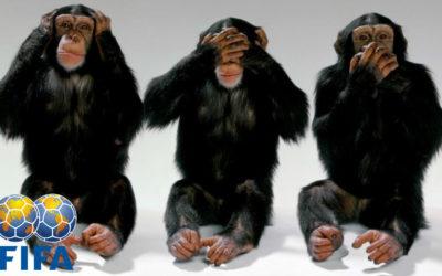 Polisportiva Roma   News Calcio – In Brasile le tre scimmiette non vedono, non sentono e…