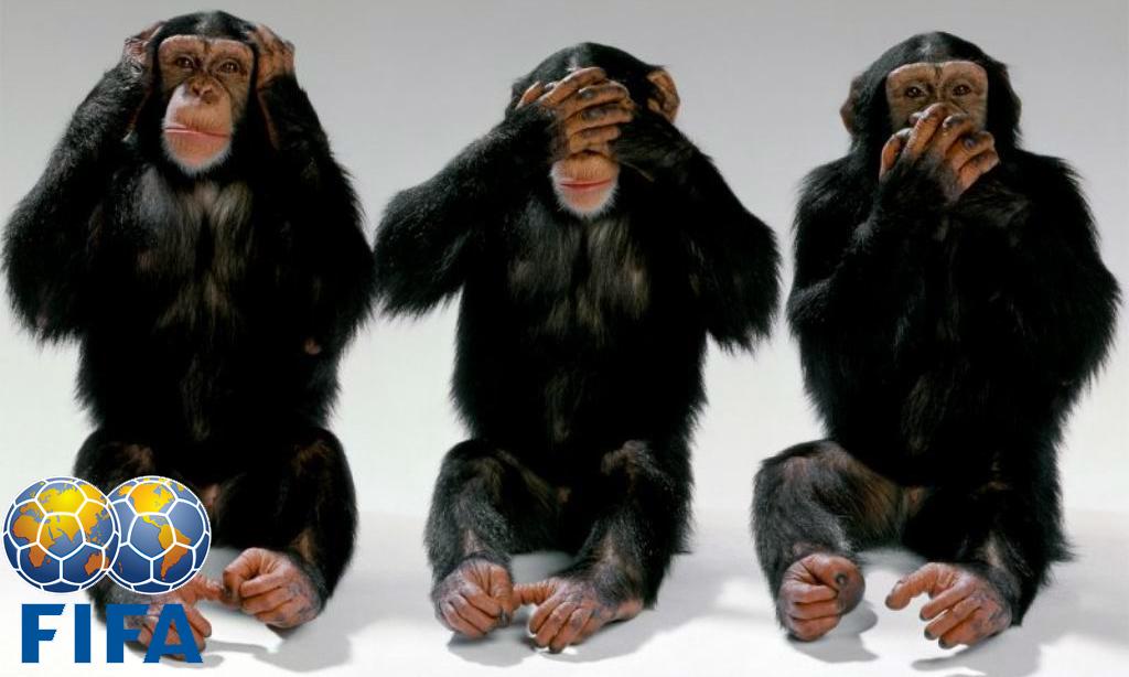 Polisportiva Roma | News Calcio – In Brasile le tre scimmiette non vedono, non sentono e…