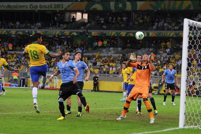 Polisportiva Roma   News Calcio – E' il Brasile la prima finalista della Confederation Cup. Battuto 2-1 l'Uruguay