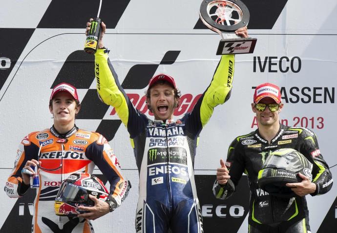 Polisportiva Roma | News Moto GP – Valentino Rossi trionfa ad Assen dopo 993 giorni di digiuno. Stoico Lorenzo, quinto con la clavicola rotta