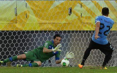 Polisportiva Roma   News Calcio – Nella Confederation Cup, Buffon para rigori e l'Italia batte l'Uruguay 5-4. Una bella competizione giocata dagli Azzurri