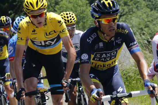 News Ciclismo | Tour de France – La nona tappa sui Pirenei la vince Daniel Martin. Froome attaccato, resta in Maglia Gialla