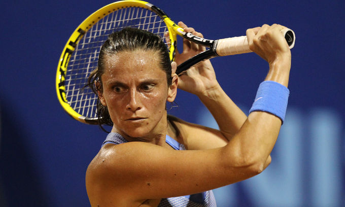 WTA PALERMO – Roberta Vinci raggiunge Sara Errani ai quarti del torneo. Sconfitta in due set la slovena Hercog