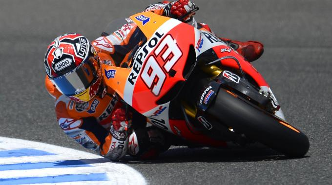 Polisportiva Roma | News Moto GP – Marquez conquista la pole davanti a Crutchlow. Rossi terzo, per la prima volta in prima fila
