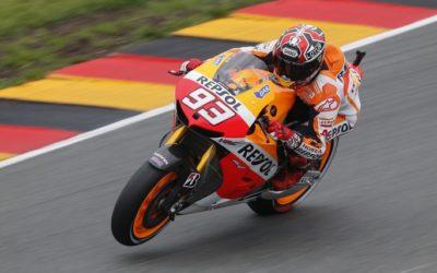 Polisportiva Roma | News Moto GP – In Germania vince Marquez in MotoGp. Valentino Rossi deve accontentarsi della terza piazza