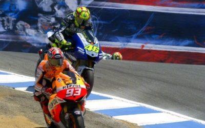 Polisportiva Roma | News Moto GP – E' sempre più il Mondiale Moto GP di Marquez; lo spagnolo vince anche negli Stati Uniti e prende il largo in classifica. Terzo posto per Valentino Rossi