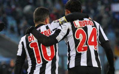 EUROPA LEAGUE – Vince facile l'Udinese con le reti di Muriel e Di Natale. Finisce 3-1 contro lo Siroki Brijeg