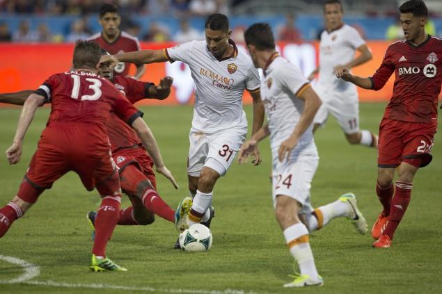 AS ROMA NEWS – Una bella Roma batte 4-1 il Toronto. Florenzi, Borriello e Pjanic i marcatori