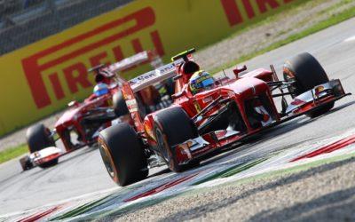 FORMULA UNO – A Monza è noia Vettel! La Ferrari può solo guardare il dominio della Red Bull. Alonso secondo e poi Webber