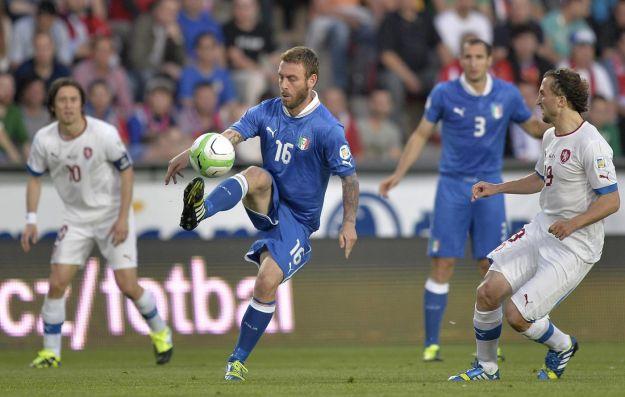 Polisportiva Roma | News Calcio – Grande prova degli Azzurri. Vanno sotto e poi ribaltano il risultato. Bene De Rossi. Staccato il biglietto per i Mondiali Brasile 2014