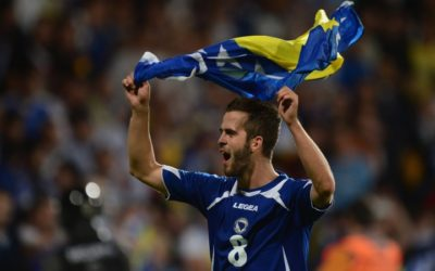 AS ROMA – La settimana indimenticabile di Miralem Pjanic: Bosnia ai Mondiali per la prima volta nella storia e la Roma sempre più capolista