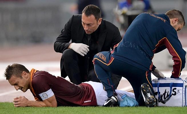 AS ROMA NEWS – Totti scalpita per tornare in campo: potrebbe rientrare dopo la sosta contro il Cagliari