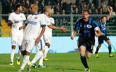 SERIE A – L'anticipo della decima giornata, Atalanta-Inter finisce 1-1. In rete Alvarez e Denis