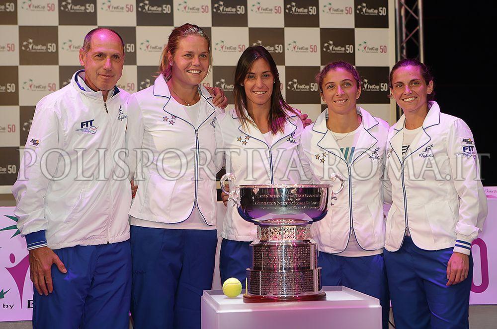 FED CUP – Per la quarta volta nella sua storia, l'Italia conquista l'ambito Trofeo