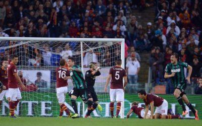 AS ROMA NEWS – Il gol di Berardi al 94esimo gela la Roma. Finisce 1-1 contro il Sassuolo di Di Francesco