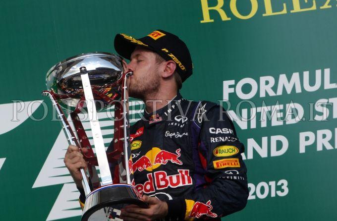 FORMULA 1 – Al Gp Usa, continua il dominio assoluto di Vettel, Alonso deluso solo quinto