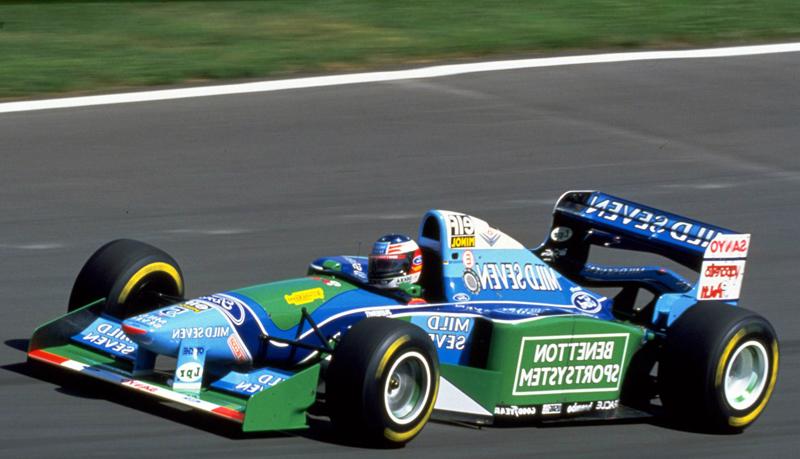 FORMULA 1 – All'asta una Benetton che ha fatto storia. La B194 del Campione del Mondo Schumacher