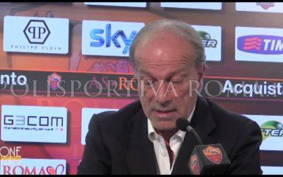 """AS ROMA NEWS – Il Direttore Sportivo Walter Sabatini, dopo il pari con il Cagliari resta comunque soddisfatto """"Ottimo bilancio"""""""
