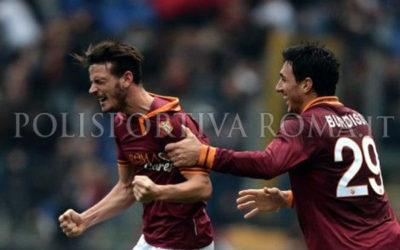 SERIE A ROMA – Poker giallorosso con un gran gol di Florenzi. Roma Genoa 4-0 e record punti al girone d'andata
