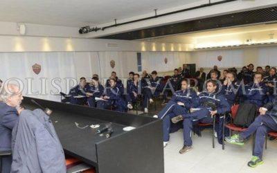 AS ROMA TRIGORIA – Ripresa degli allenamenti con lezioni di Garcia ai Mister del futuro