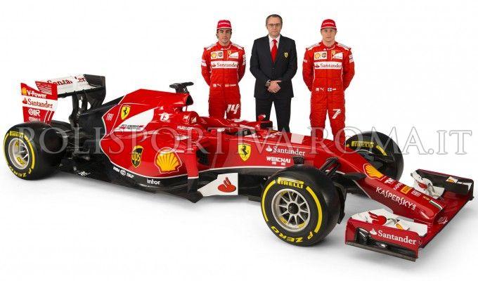 FORMULA 1 – Sulla nuova Ferrari F14-T compare un messaggio – #forzamichael