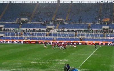 SERIE A AS ROMA – Olimpico impraticabile e gara con il Parma rinviata. Ora sotto con il Napoli in Coppa Italia