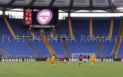SERIE A AS ROMA – Curve chiuse per 2 turni. Offendere Napoli è lesivo e offendere Roma o Milano o Torino no? Qualcuno ci dia una spiegazione…